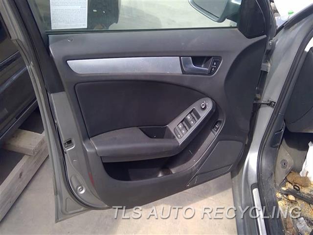 2011 Audi A4 Audi Trim Panel, Fr Dr  LH,BLK,LEA