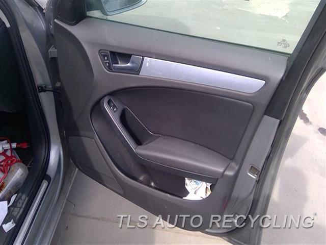 2011 Audi A4 Audi Trim Panel, Fr Dr  RH,BLK,LEA