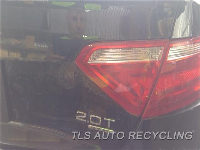 2013 Audi A5 Audi Tail Lamp  RH,INCANDESCENT BULB (OPT 8SA), LID