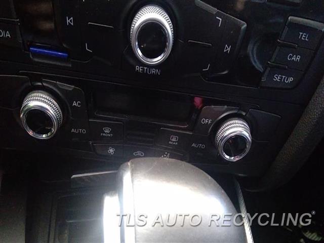2013 Audi A5 Audi Temp Control Unit  BLK,NO HEATED SEATS