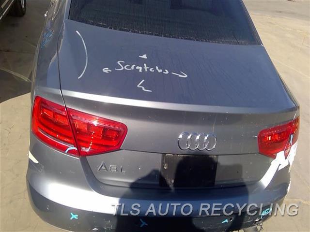 2013 Audi A8 Audi Deck Lid  000,GRY,A8L,W/LIGHTS