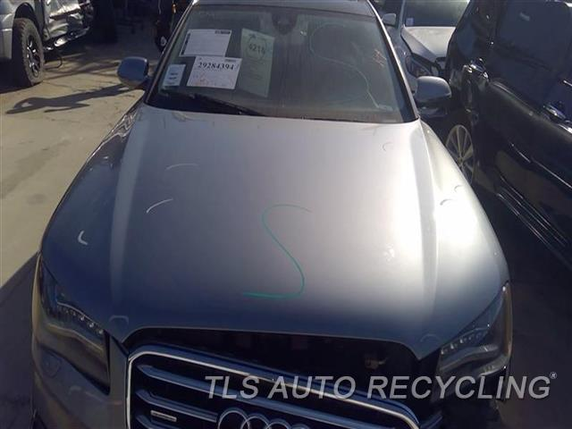 2013 Audi A8 Audi Hood MINOR SCRATCHES ALL OVER 6S1,GRY