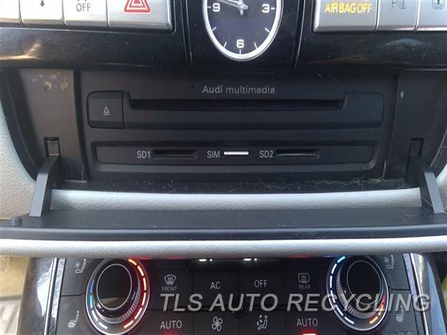 2013 Audi A8 Audi Radio Audio / Amp  MULTIMEDIA (DASH MOUNTED),CHECK ID