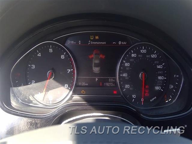 2013 Audi A8 Audi Speedo Head/cluster  (CLUSTER), MPH, (180 MPH), CHECK ID