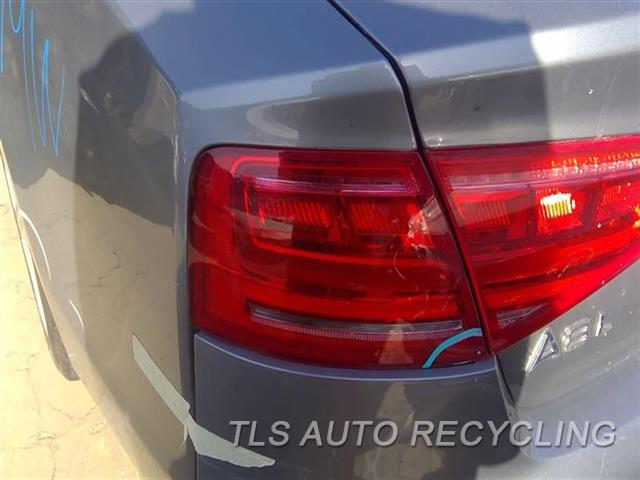 2013 Audi A8 Audi Tail Lamp  LH,QUARTER PANEL MOUNTED, L.