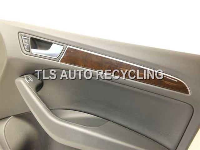 2013 Audi Q5 AUDI trim panel, fr dr - 8R1867104AHBLACK