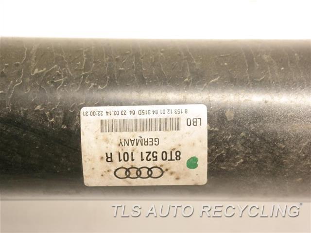 2014 Audi Rs5 Audi Drive Line, Rear  REAR DRIVE SHAFT 8T0521101R