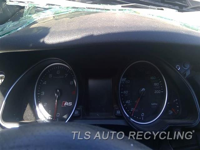 2014 Audi Rs5 Audi Speedo Head/cluster  (CLUSTER), (MPH)CHECK PART CHECK ID