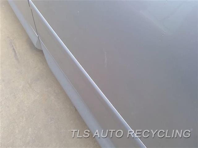 2005 Audi S4 Audi Door Assembly, Rear Side MINOR DENT UPPER SECTION,PAINT PEELING MIDDLE SECTION 5T1,5D1,LH,SLV