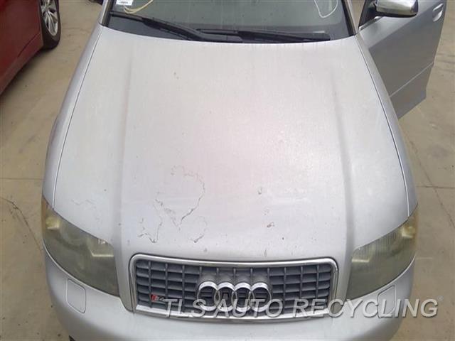 2005 Audi S4 Audi Hood CLEAR COAT PEELING MIDDLE SECTION 2T2,SLV,SDN, THRU VIN 400000