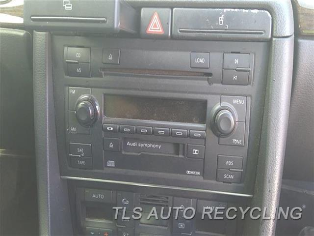 2005 Audi S4 Audi Radio Audio / Amp   RECEIVER, AM-FM-STEREO, SYMPHONY
