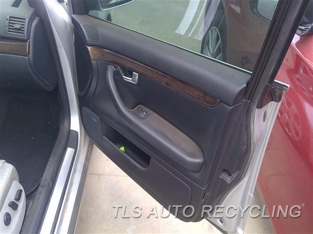 2005 Audi S4 Audi Trim Panel, Fr Dr  RH,BLK,LEA