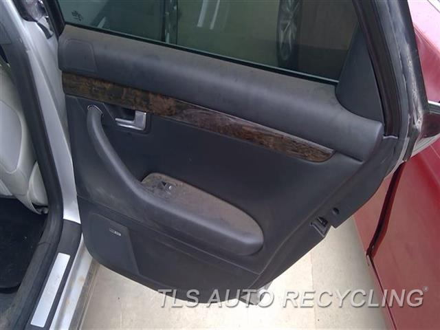 2005 Audi S4 Audi Trim Panel, Rr Dr  RH,BLK,LEA