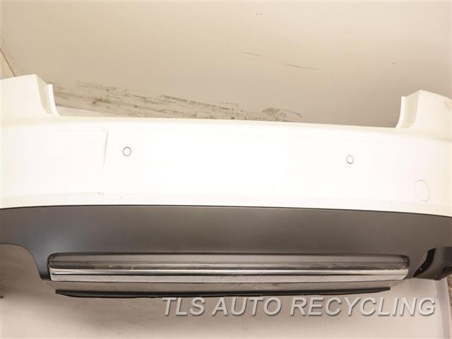 2009 Audi S5 Audi Bumper Cover Rear    000,WHT,W/PARK ASSIST