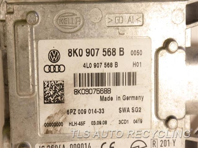 2009 Audi S5 Audi Chassis Cont Mod MODULE, LANE CHANGE ASSIST 8K0907568B LANE DEPARTURE WARNING
