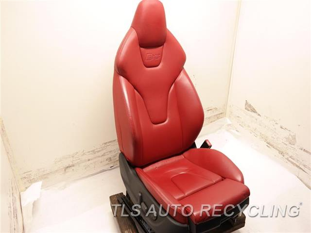 2009 Audi S5 Audi Seat, Front  RH,RED,LEA,(ELECTRIC), (LEATHER)