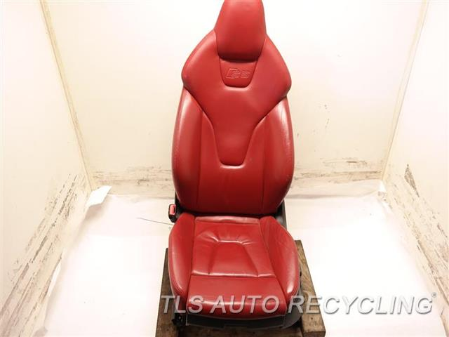 2009 Audi S5 Audi Seat, Front  LH,RED,LEA,(ELECTRIC), (LEATHER)