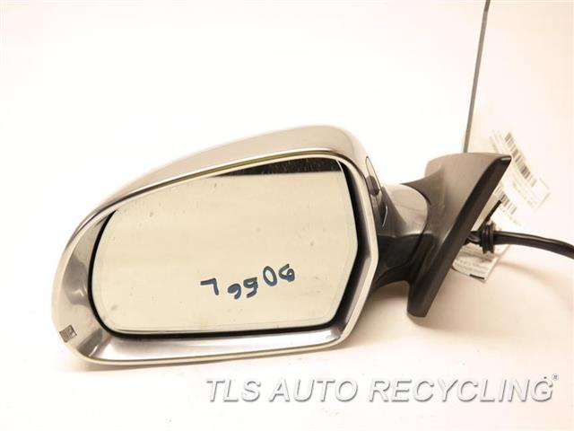 2009 Audi S5 Audi Side View Mirror  LH,WHT,PM,POWER, ELECTRIC FOLDABLE