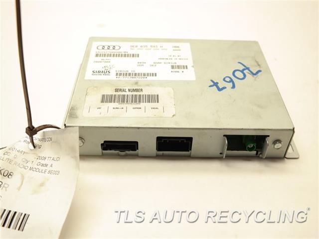 2008 Audi Tt Audi Radio Audio / Amp 8E0035593 SIRIUS SATELLITE RADIO MODULE