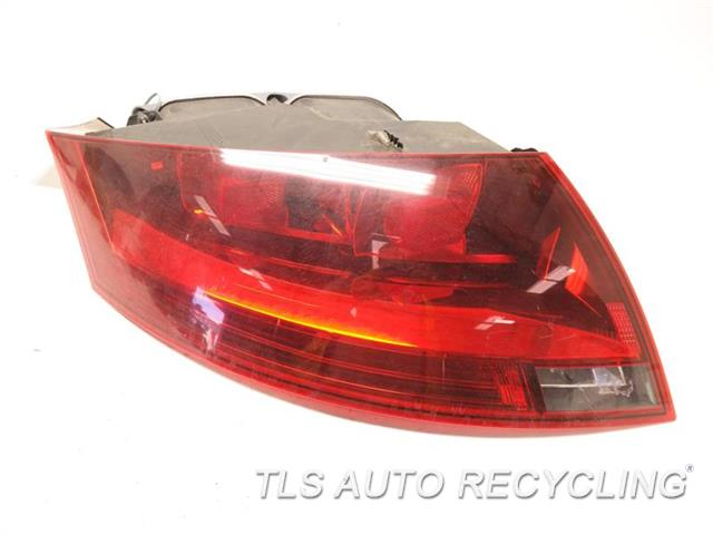 2008 Audi Tt Audi Tail Lamp  LH,RED HOUSING COLOR (OPT 8SD), L.