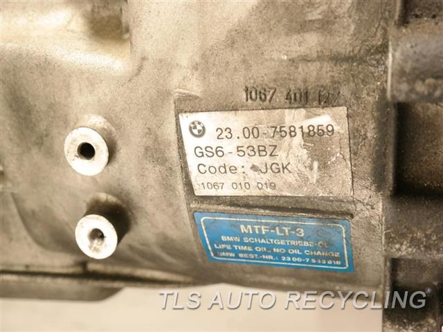2008 Bmw 135i Transmission  MANUAL TRANSMISSION 1 YR WARRANTY
