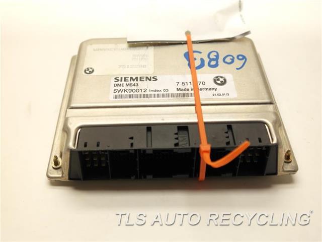 2001 Bmw 325i Eng/motor Cont Mod 7511750  7512288  7511570 12147545150 ENGINE CONTROL UNIT ECU