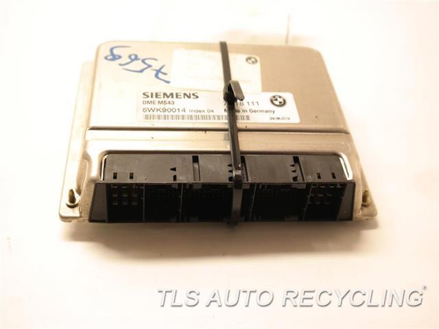 2001 Bmw 325i Eng/motor Cont Mod 12147545150 7518111 ENGINE CONTROL UNIT ECU
