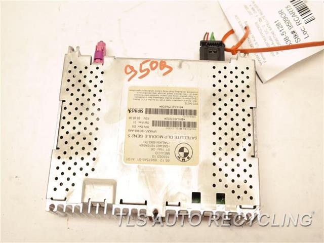 2007 Bmw 335i Radio Audio / Amp  65126987545 SATELLITE RECEIVER MODUL