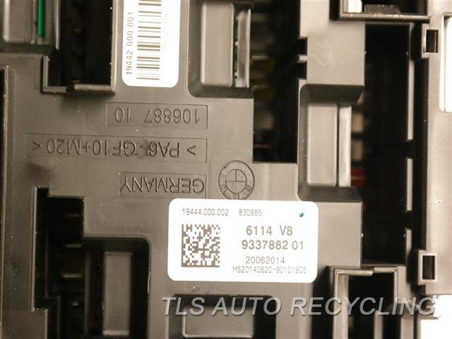 2015 BMW 335I fuse box - 9337880 - Used - A Grade.