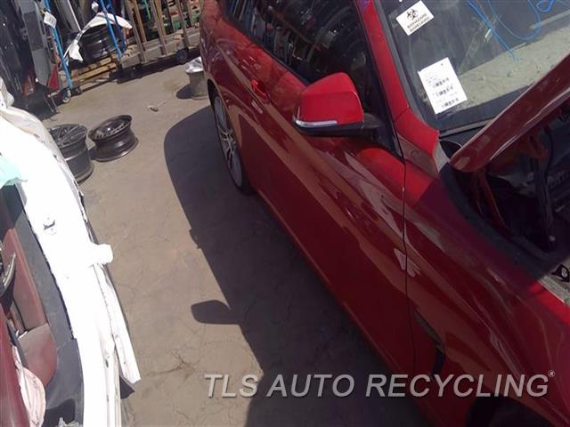 2016 Bmw 428i Bmw Door Assembly, Front DEEP SCRATCH W/DING FRONT SECTION 6S1,RH,RED
