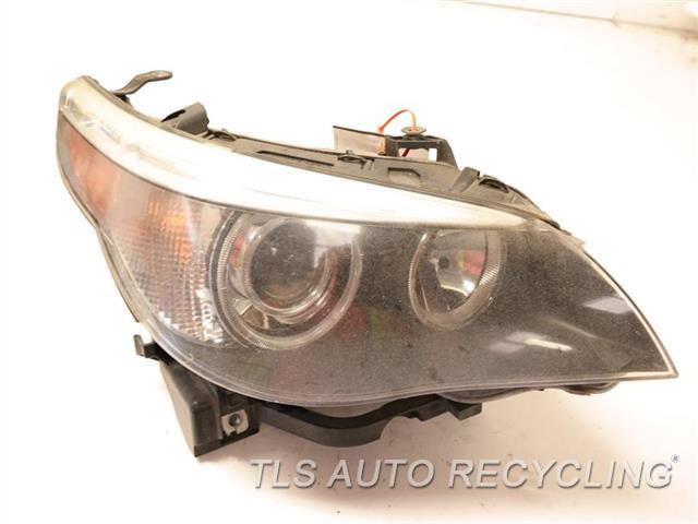 2006 Bmw 530i Headlamp Assembly GLASS HAS  MINOR ROCK CHIPS, NEED BUFF RH,XENON (HID), ADAPTIVE HEADLAMPS