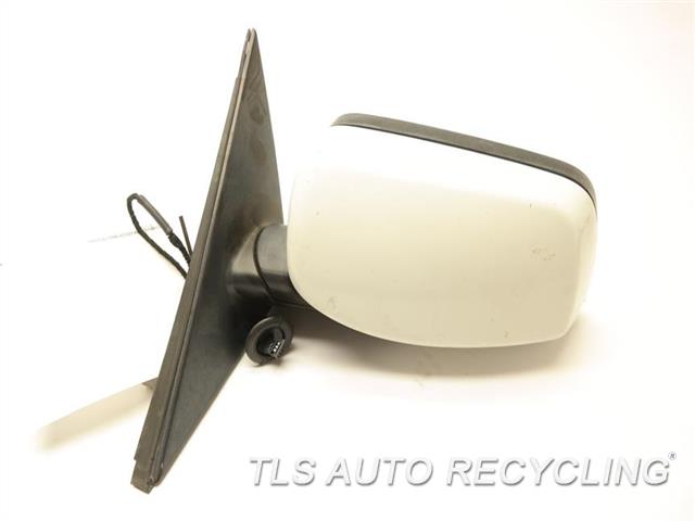 2008 Bmw 535i Side View Mirror 51167189626  67136974452   REPAINT WHITE DRIVER SIDE VIEW MIRROR