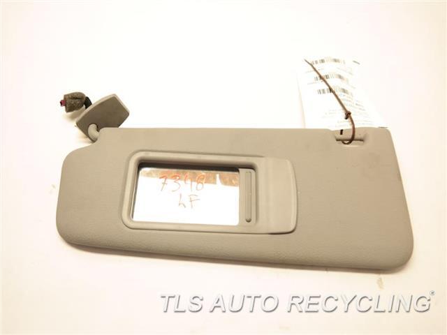 2011 Bmw 535i Sun Visor Shade 51168038165grey Driver