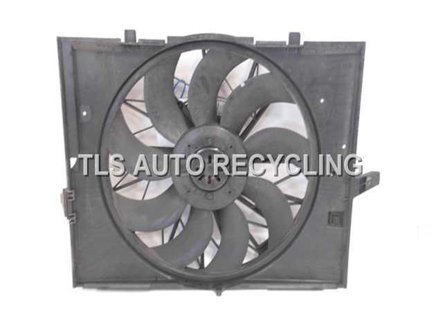 2004 Bmw 545i Rad Cond Fan Assy  RADIATOR FAN 17427543282