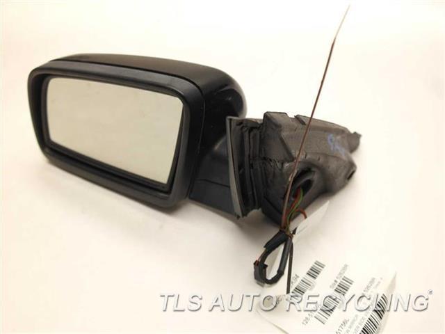 2006 Bmw 550i Side View Mirror 51167189601 51167168183 BLACK DRIVER SIDE VIEW MIRROR