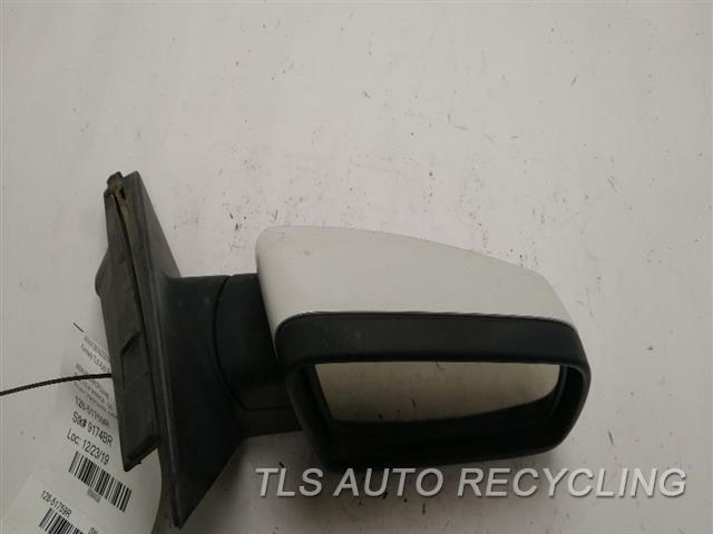 2006 Bmw 550i Side View Mirror  RH,WHT,PM,POWER, (HEATED), MEMORY,