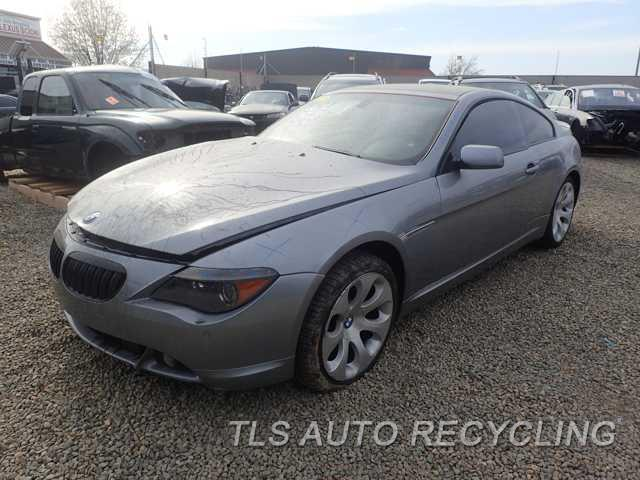 parting out 2005 bmw 645ci stock 6063br tls auto recycling. Black Bedroom Furniture Sets. Home Design Ideas