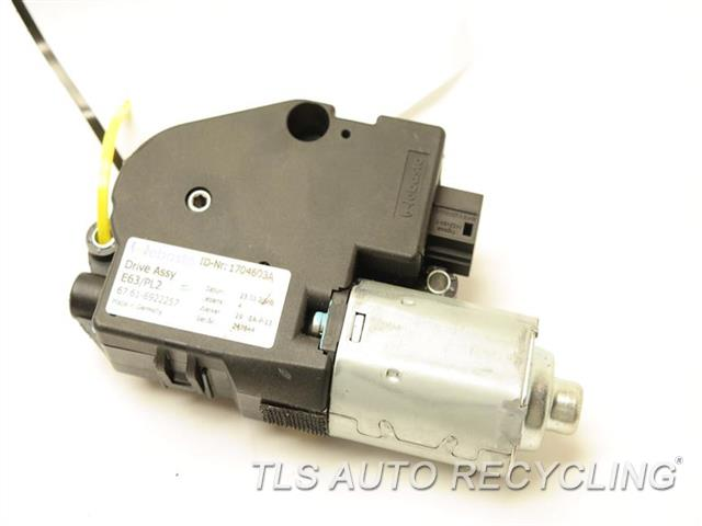 2008 Bmw 650i Roof Motor 67616922257 Used A Grade