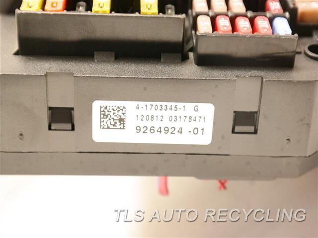 2013 Bmw 650i Fuse Box  61149264924 REAR POWER DISTRIBUTION