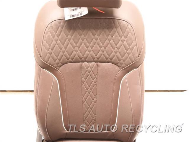 2017 Bmw 740i Seat, Front  RH,BRWN,LEA,SEAT (BUCKET), (AIR BAG)