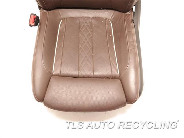 2017 Bmw 740i Seat, Front  LH,BRWN,LEA,SEAT (BUCKET), (AIR BAG)