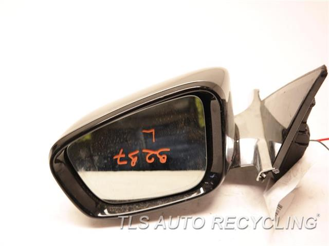 2017 Bmw 740i Side View Mirror W/CAMERA LH,GRAY,PM,(POWER), (HEATED),POWER