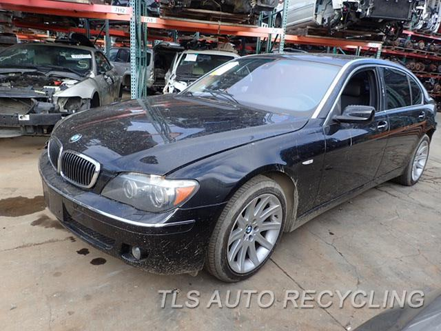 parting out 2006 bmw 750li stock 8016or tls auto. Black Bedroom Furniture Sets. Home Design Ideas