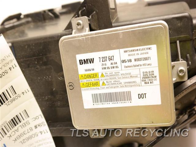 2011 Bmw B7 Alpina Headlamp Assembly  LH,(XENON, HID, ADAPTIVE HEADLAMPS)