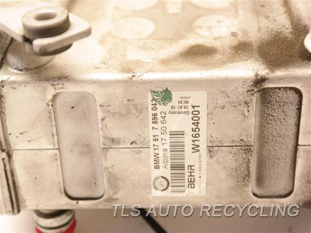 2011 Bmw B7 Alpina Intercooler  RH,(4.4L, TWIN TURBO), R.