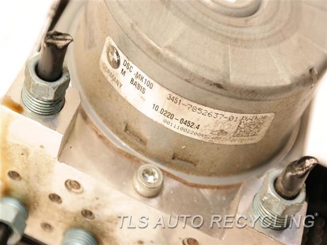 2016 Bmw M4 Abs Pump  ABS ASSY, DYNAMIC STABILITY CONTROL