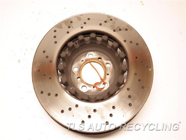 2016 Bmw M4   RH. DRILLED BRAKE ROTOR W/O CERAMIC