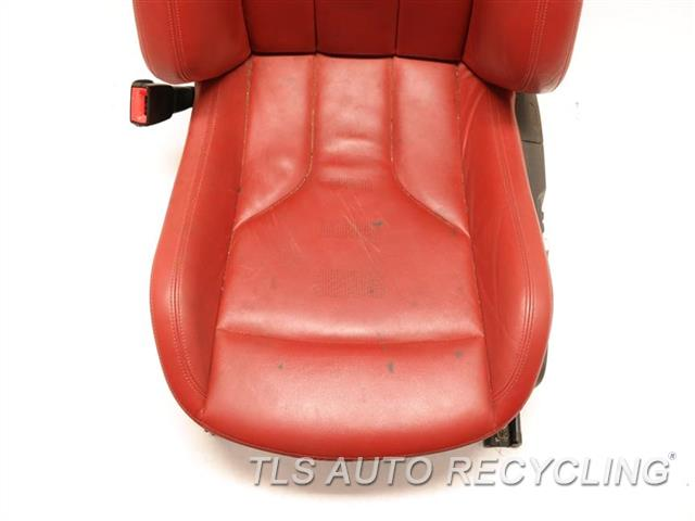 2016 Bmw M4 Seat, Rear REAR PANEL HAS BENT LH,RED,LEA, SEAT (BUCKET), (AIR BAG)