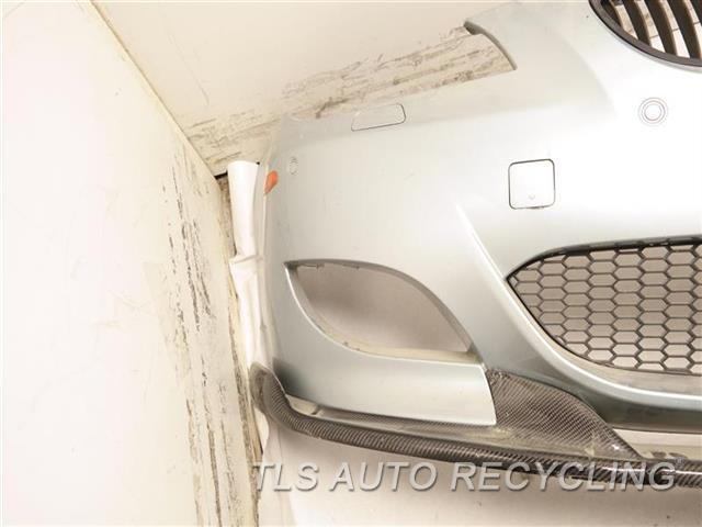 2008 Bmw M5 Bumper Cover Front W/ CARBONFIBER LOWER LIP SPOILER, MINOR SCRATCHES ON BOTTOM BLUE FRONT BUMPER W/GRILLE