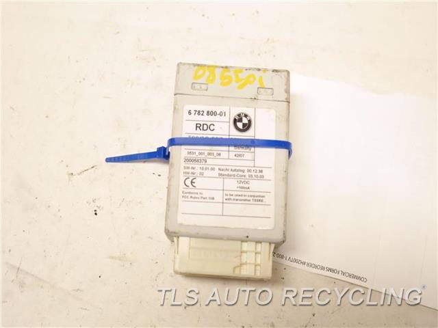 2008 Bmw M5 Chassis Cont Mod  36236785279 6782800 TIRE PRESSURE CONTROL